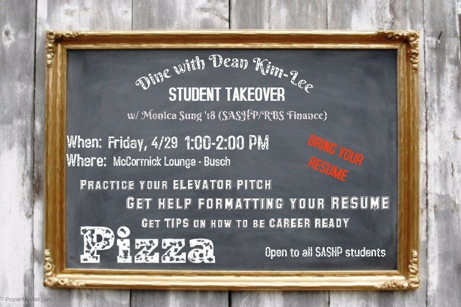 Dine with the Dean April