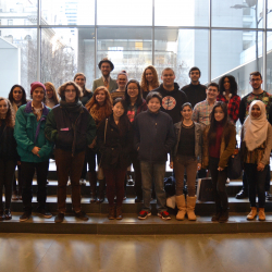 Honors Students Experience Modern Art with Dean Nazario