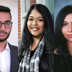 Mohammed Farooqui '20, Saloni Jain '20, and Marina Soliman '20 Accepted to BA/MD Program (Robert Wood Johnson Medical School – Rutgers New Brunswick Campus)