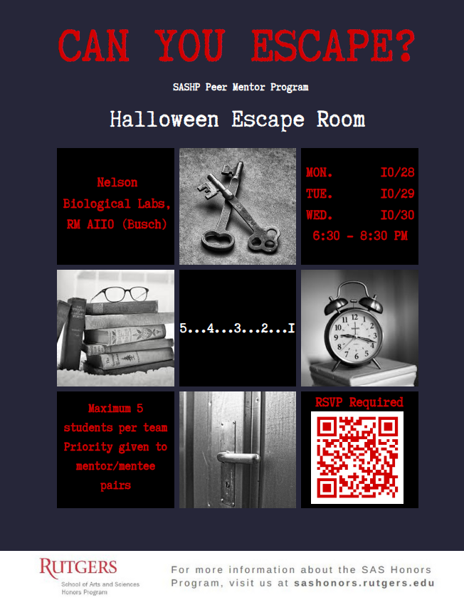 Halloween Escape Room - details above