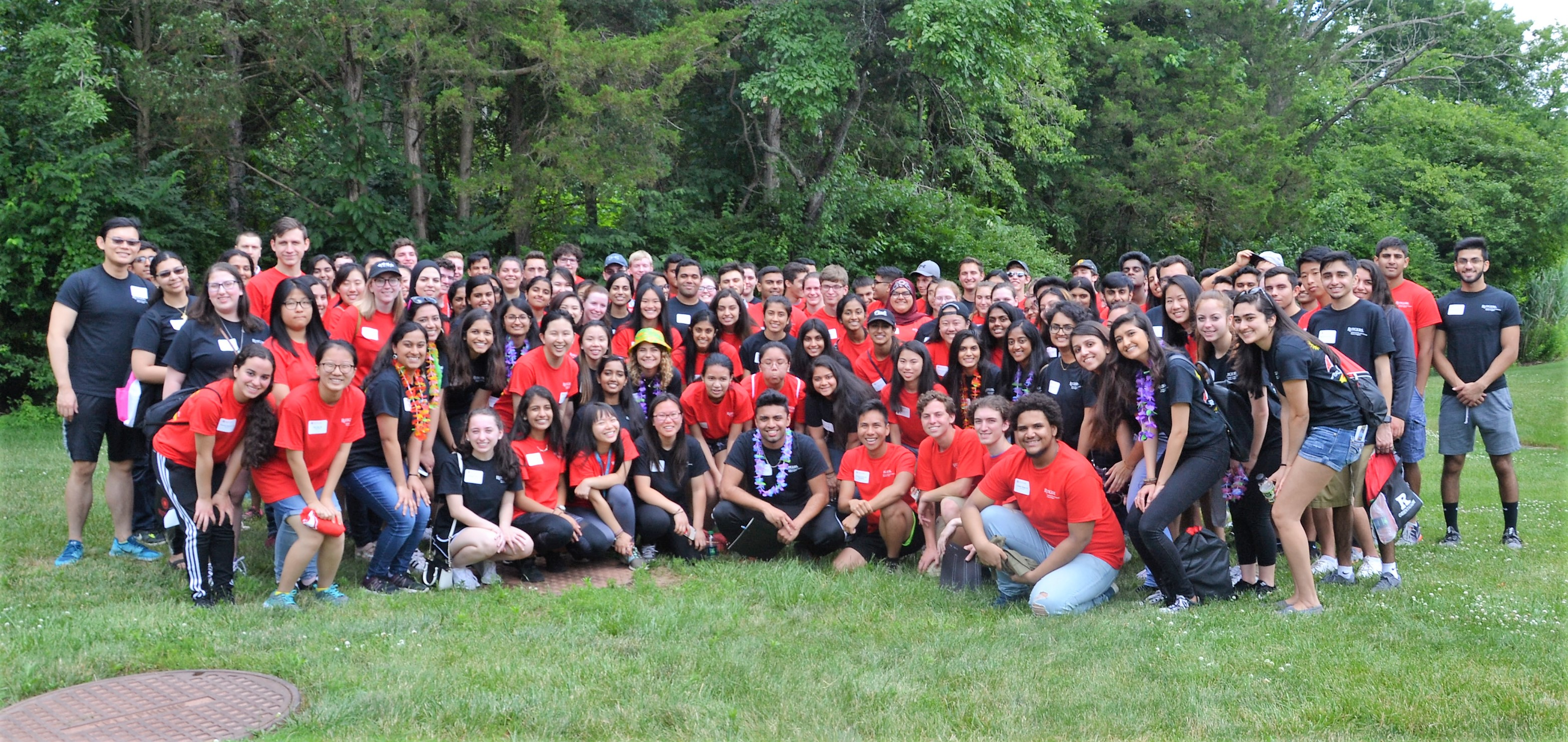 Group of Peer Mentors & Mentees at the 2018 Summer Gathering