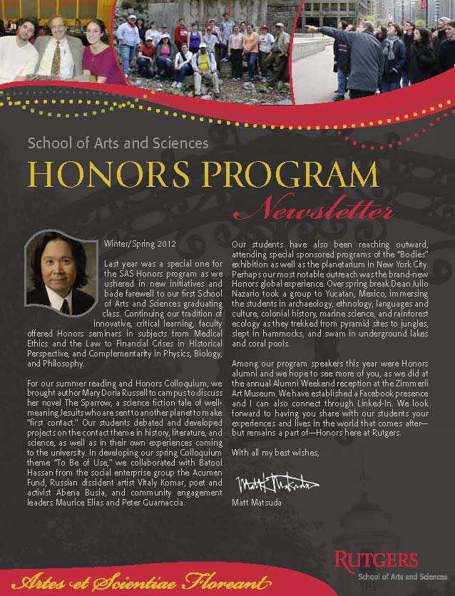sashp alumni newsletter winter spring 2012_page_1