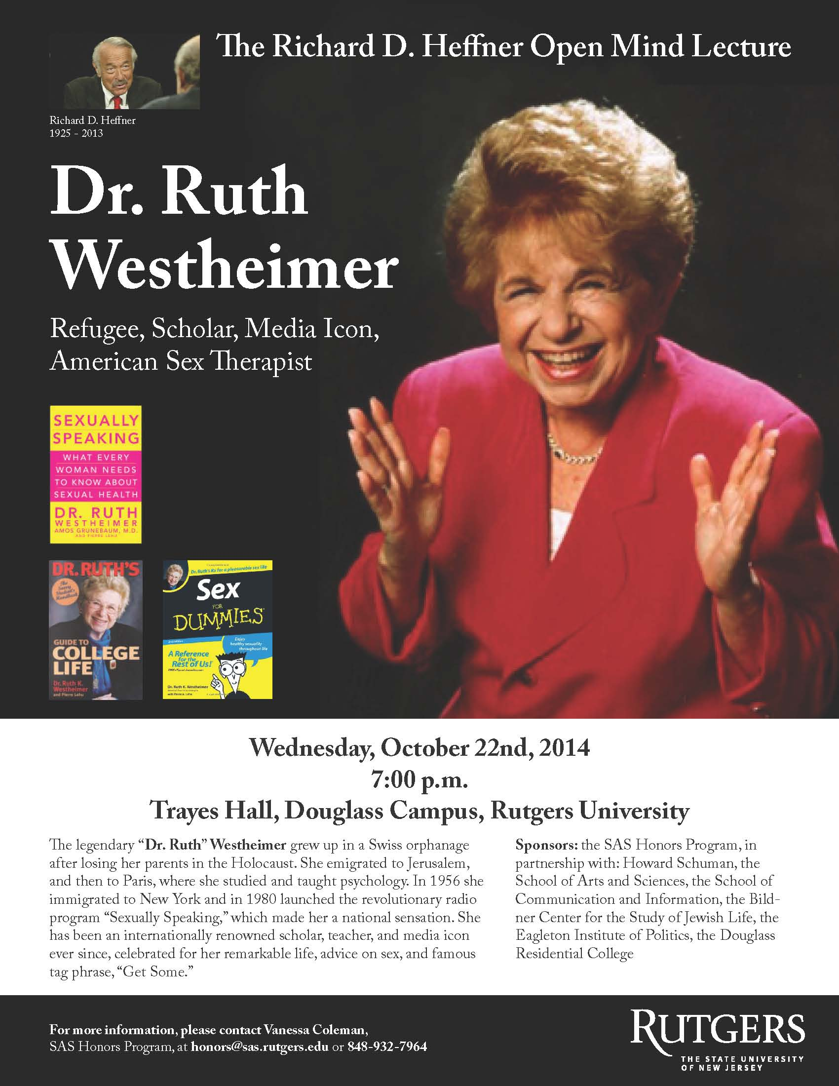 Dr. Ruth Lecture